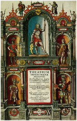 image of 1616 Latin edition of John Speed's Theatre of the Empire of Great Britain