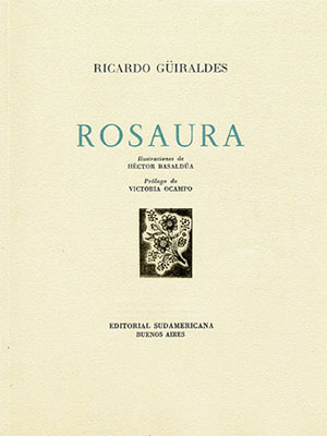 The title page of the 1960 edition of Rosaura.