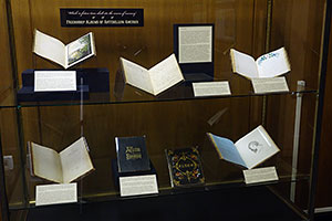 Detail photograph of display.